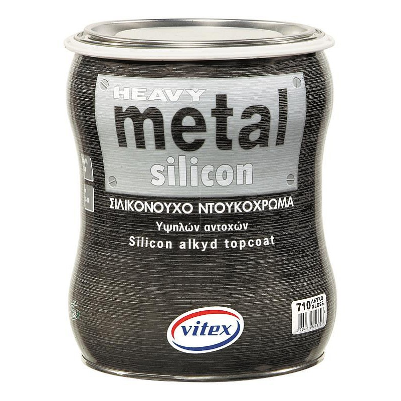 Heavy Metal Silicon Metalize σιλικονούχο ντουκόχρωμα Vitex 750ml