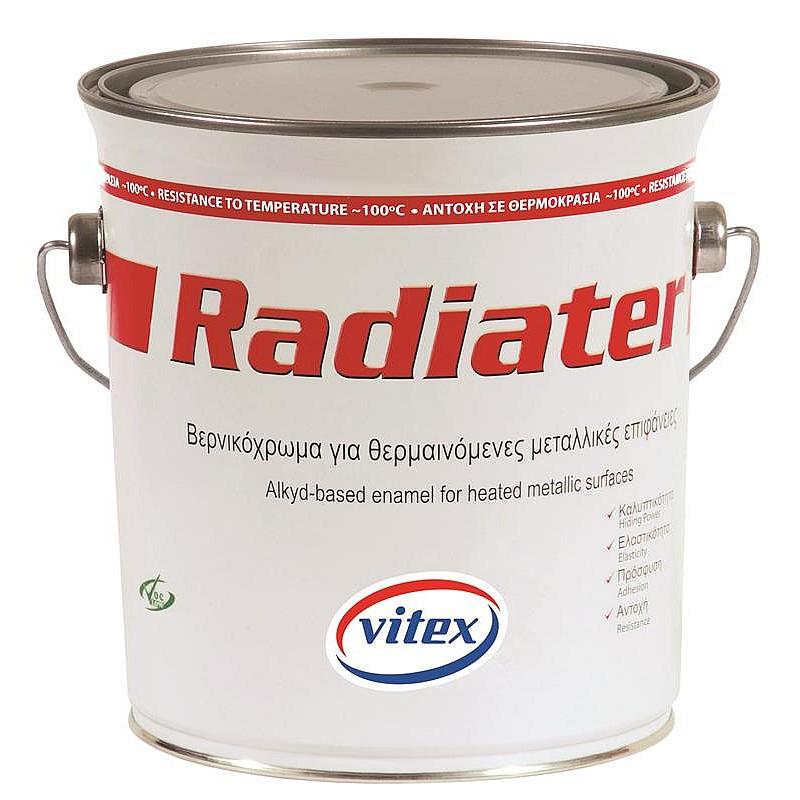 Radiater ντουκόχρωμα καλοριφέρ λευκό Vitex 2,5L