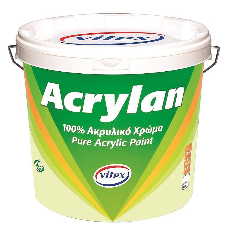 Acrylan ακρυλικό χρώμα 100% Vitex 3L