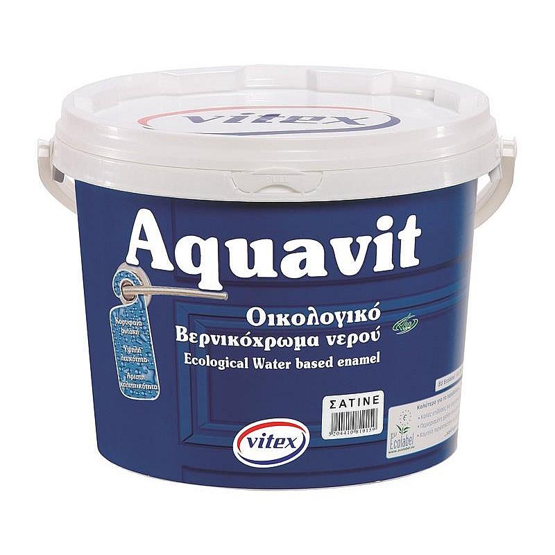 Aquavit eco ριπολίνη νερού λευκή Vitex 750ml