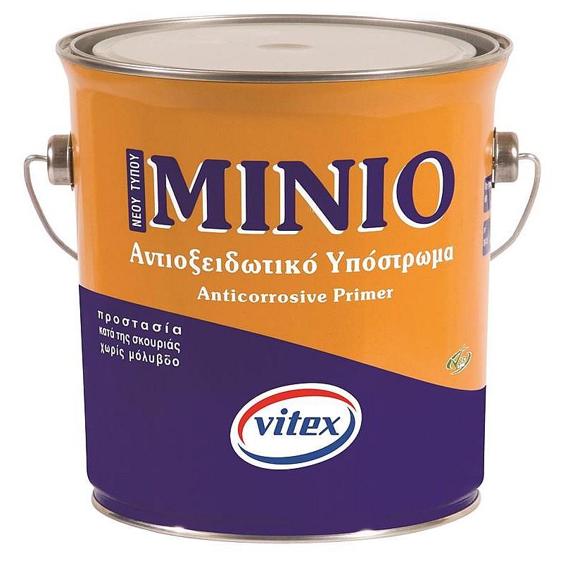 Μίνιο αντισκωριακό πορτοκαλί Vitex 2,5L