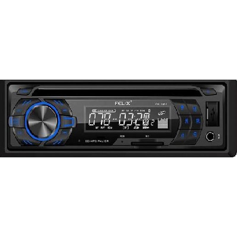 Ράδιο-cd με usb αυτοκινήτου Felix FX-361