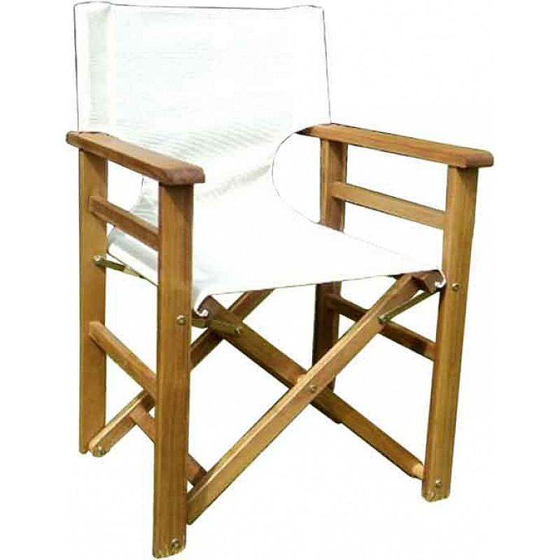 Πολυθρόνα σκηνοθέτη ξύλινη χωρίς  πανί ΑΚΑΚΙΑ Velco 188-0712