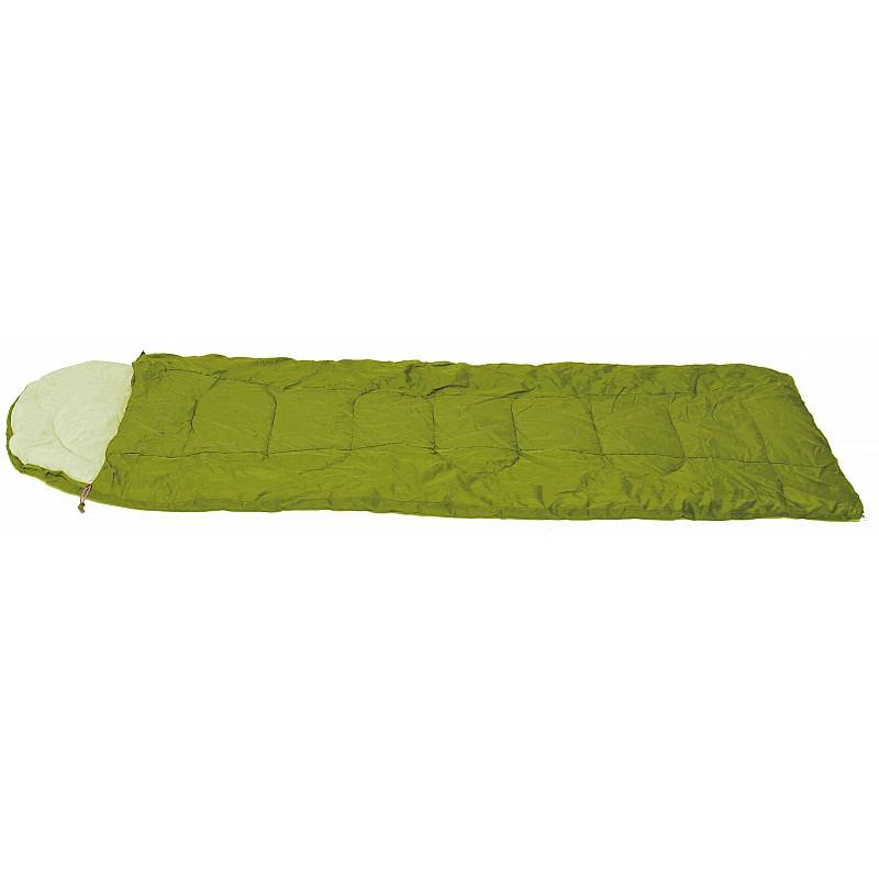 Υπνόσακος KRAKATOA πράσινο με μαξιλάρι & θήκη συμπίεσης 220Χ75ΕΚ.,2Χ120ΓΡ/Μ2 Campus 210-0539-6
