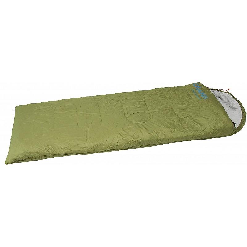 Υπνόσακος FOX χακί με μαξιλάρι 220Χ75εκ.,200γρ. Campus 210-3883-12