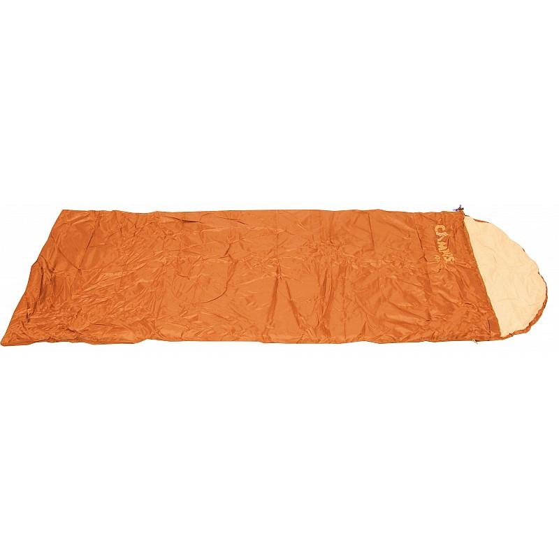 Υπνόσακος FOX πορτοκαλί με μαξιλάρι 220Χ75εκ.,200γρ Campus 210-3883-2