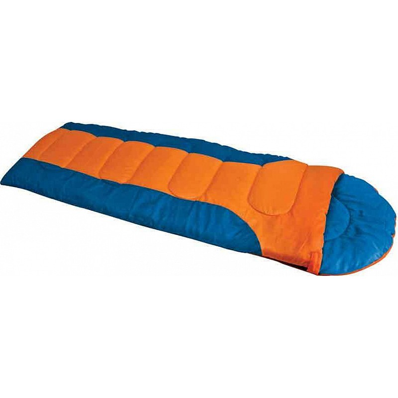 Υπνόσακος LAGUNA χακί με μαξιλάρι 220Χ75εκ., 400γρ Campus 210-8062-12