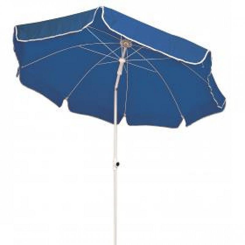 Ομπρέλα βεράντας-κήπου-θαλάσσης μπλε 2m μεταλλική Campus 371-4636-1