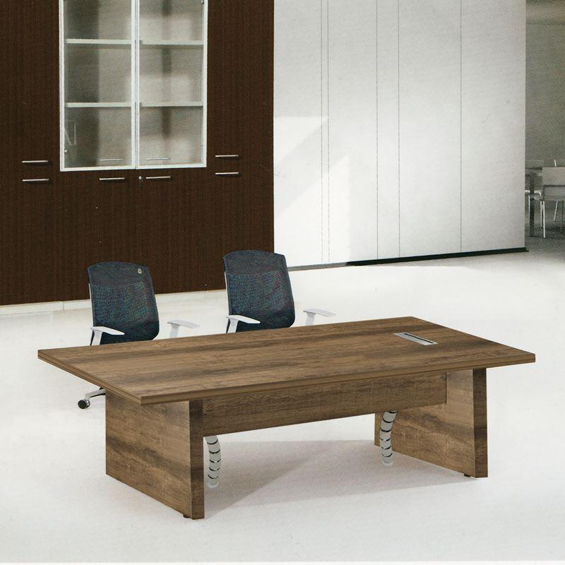 ALPINE τραπέζι συνεδρίου Brown Oak