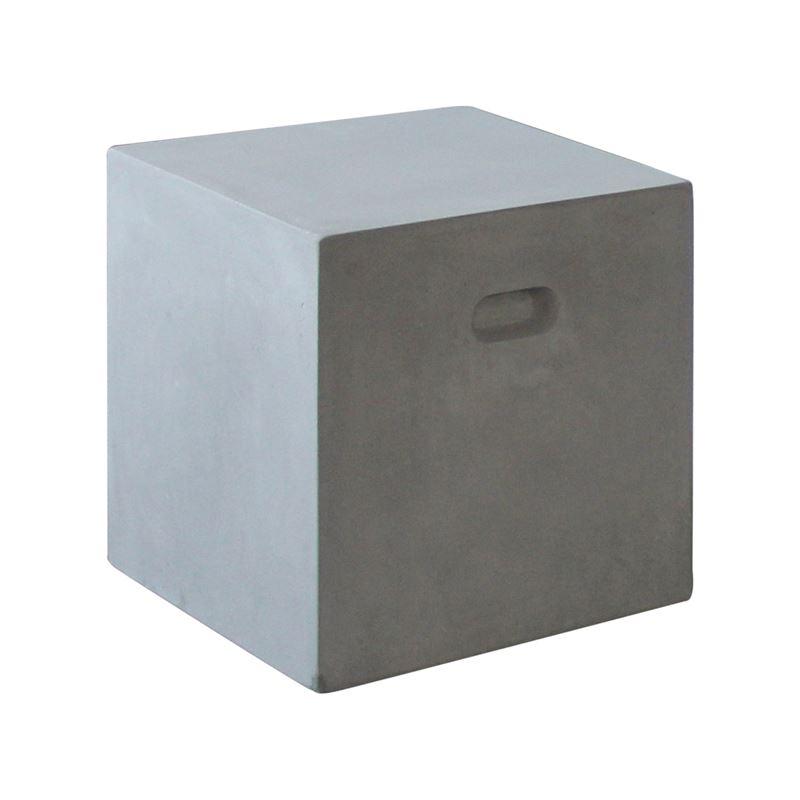 CONCRETE Cubic σκαμπώ Cement Grey