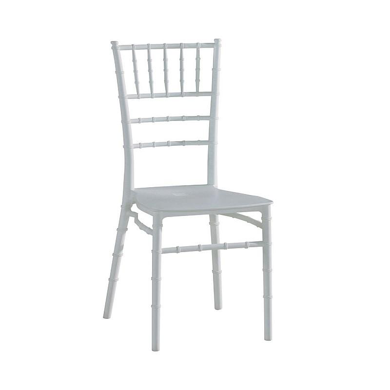 ILONA-W PP Καρέκλα Πολυπροπυλένιο (PP) Άσπρο