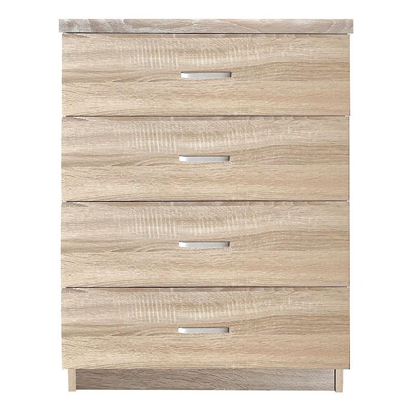 DRAWER Συρταριέρα με 4 Συρτάρια / Sonoma