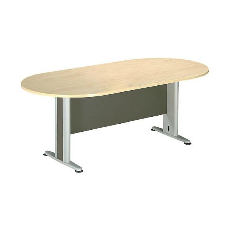 ΣΥΝΕΔΡΙΟΥ τραπέζι οβάλ Dark Grey/Beech